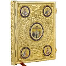 Evanghelie aurita cu pietre semipretioase Cod 24-210