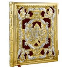 Evanghelie bicolora aur+argint Cod 27-236