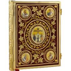 Evanghelie filigram aurita+pietre Cod 21-114