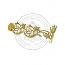 Consola candela bronz- aurita , cod 89-587