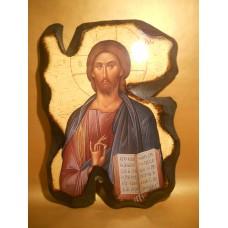 Icoana Lemn Iisus Hristos