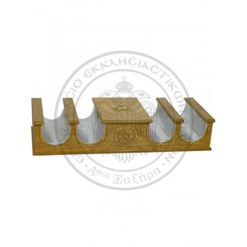 Cutia milei cu suport lumanari 117-971