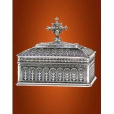 Caseta Sfinte Moaste Argintata
