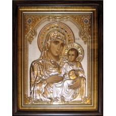 Icoana Argint - Maica Domnului Ierusalinita