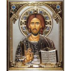 Icoana Argint Iisus Hristos